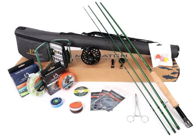 Maxcatch Premier Fishing Outfit – Best Beginner Fly Fishing Starter Kit