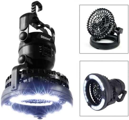Odoland Portable LED Camping Lantern