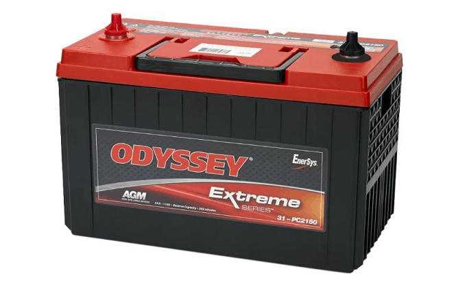Odyssey 31-PC2150S Heavy Duty Commercial Battery- Overall