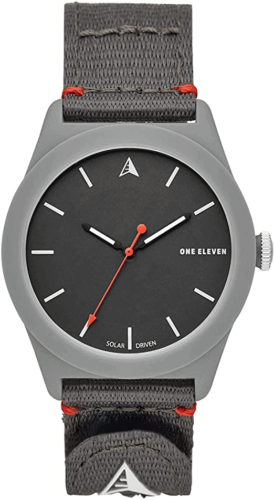 One Eleven SWII Sustainable Crafted Bio-Plastic and Recycled Nylon Solar Watch