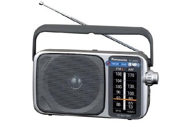 Panasonic RF-2400D Portable AMFM Radio