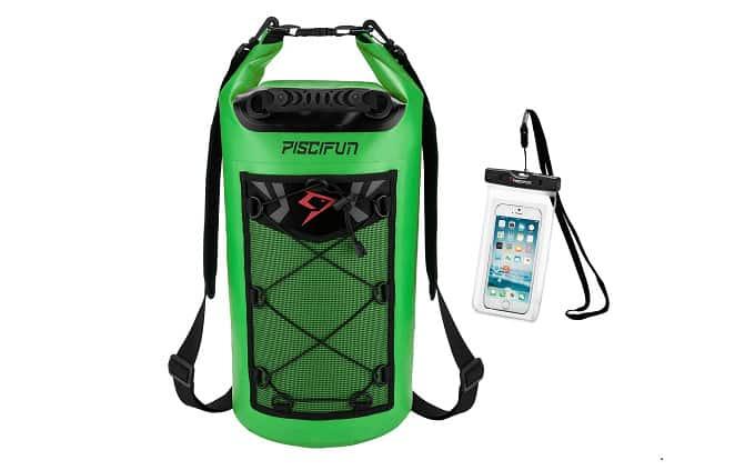 Piscifun Waterproof Dry Bag Backpack