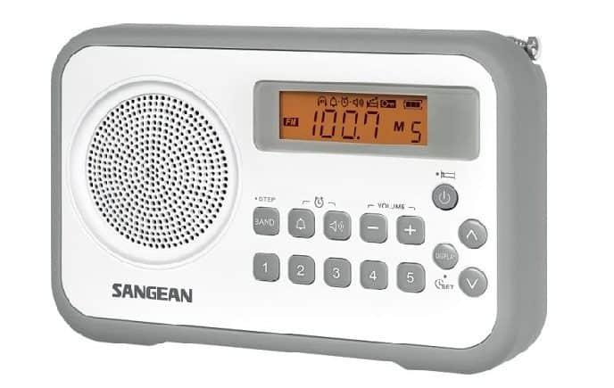 Sangean PR-D18GR AMFM Portable Digital Radio