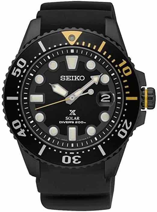 Seiko SNE441 Solar Diver's Watch
