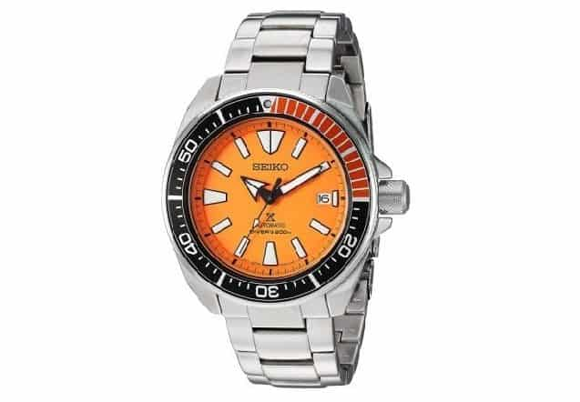 Seiko SRPC07 PROXPEX Analog Display Automatic Self Wind Silver Watch
