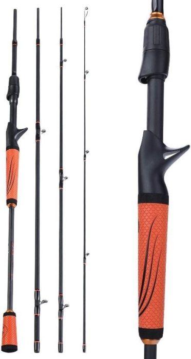 Sougayilang Speed Bass Fishing Rods