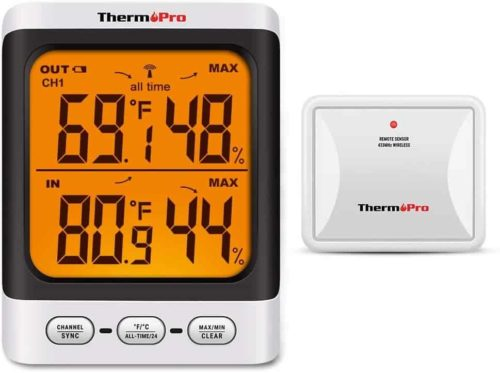 ThermoPro TP62 Digital Indoor Outdoor Thermometer