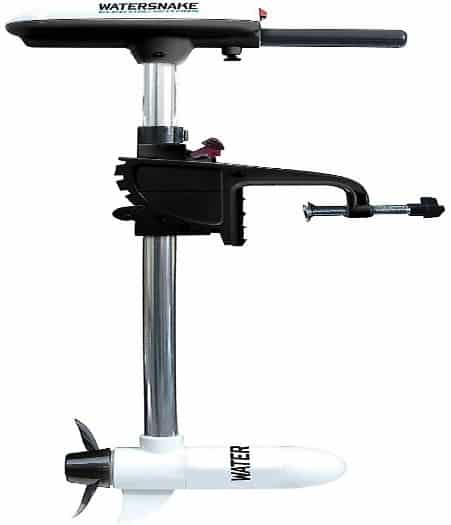 Watersnake ASP T18 Saltwater Electric Outboard with Bracket