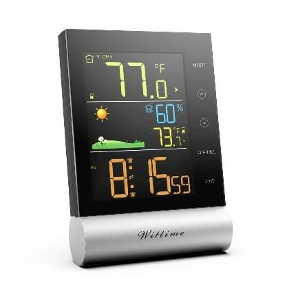 Wittime 2079 Indoor Outdoor Thermometer