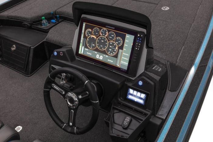 The Nitro Z21 control panel